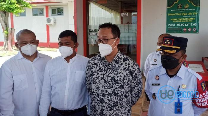 Komisioner Komnas HAM kunjungi LP Banda Aceh (Agus Setyadi-detikcom)